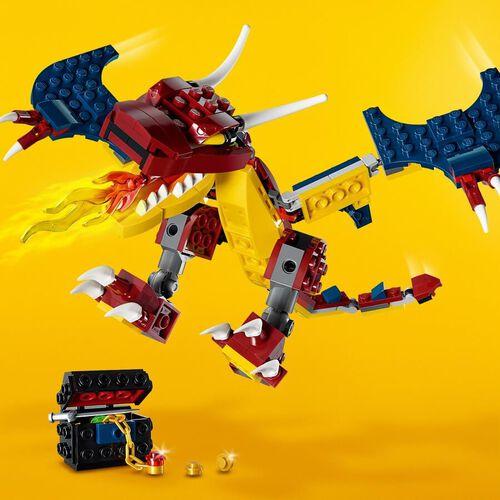 LEGO樂高創意系列 焰舞火龍 31102