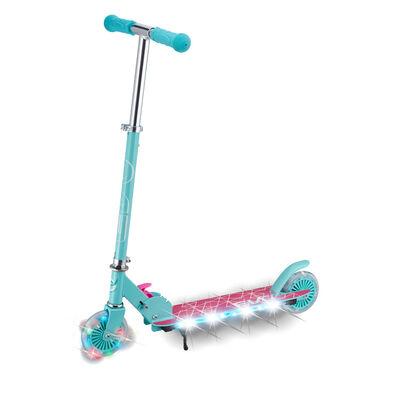Evo 兩輪發光滑板車 - 粉紅色