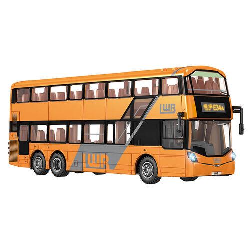 Konsept 1:43 Lwb Rc Double Decker Bus B8L Orange