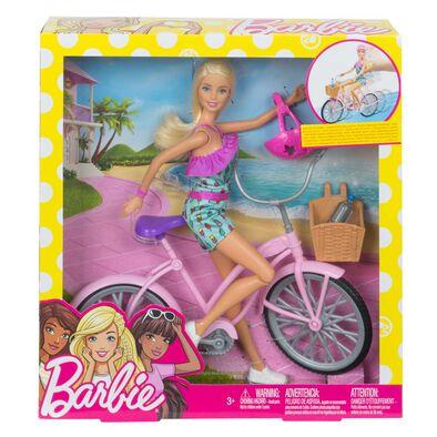 Barbie Doll & Bike/Oc (Japanese Version)