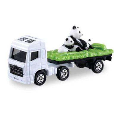 Tomica多美 車仔no.3 熊貓運輸車