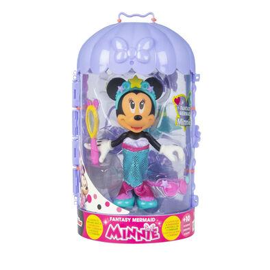 Disney迪士尼 米妮服飾公仔 - 美人魚系列