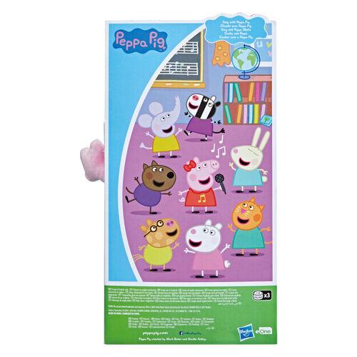 Peppa Pig粉紅豬小妹 唱歌佩佩絨毛娃娃