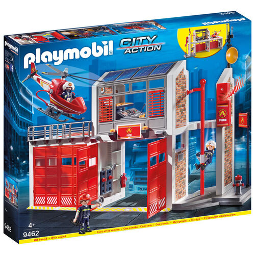 Playmobil摩比世界消防局