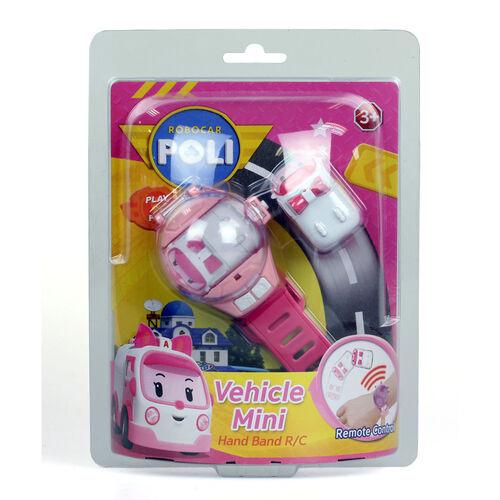 Robocar Poli救援小英雄波力 Amber 1.5寸車輛迷你手帶