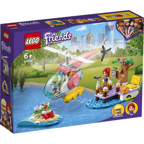 LEGO樂高好朋友系列 獸醫診所救援直升機 - 41692