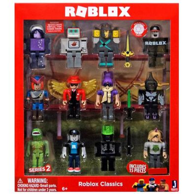Roblox機器磚塊 人物造型公仔12件裝