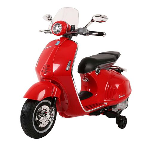 Vespa偉士 中童電動綿羊仔電單車-紅色