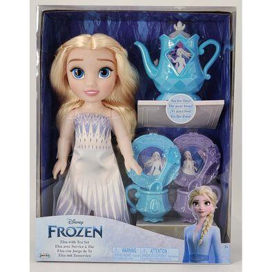 Disney Frozen迪士尼魔雪奇緣 愛莎玩偶 及茶具套裝