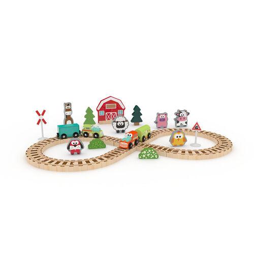 J'adore農場火車軌道套裝