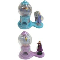 Disney Frozen迪士尼魔雪奇緣 2 扭蛋機連糖果10克 - 隨機發貨