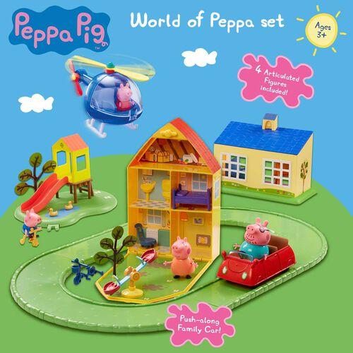Peppa Pig粉紅豬小妹 住屋玩具組合