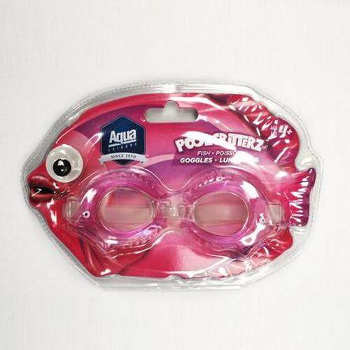 Aqua Leisure - Aqua Pool Critterz 護目鏡(4 種樣式:蟹/魚/青蛙/章魚)-隨機發貨