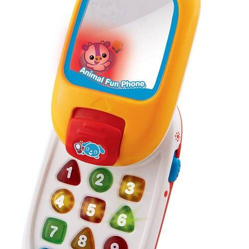 Vtech偉易達 歡樂動物小電話