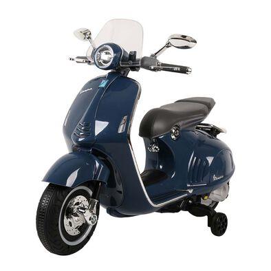 Vespa偉士 中童電動綿羊仔電單車-藍色
