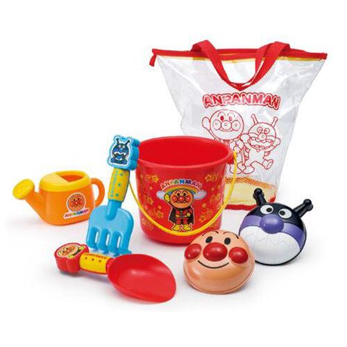 Anpanman麵包超人繽紛沙灘玩具套裝