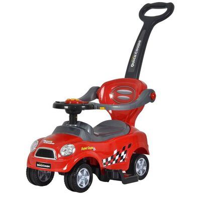 Chi Lok Bo 3-In-1 Easy-Wheel Ride-On Car