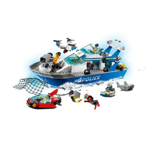 LEGO樂高城市系列 警察巡邏艇 - 60277