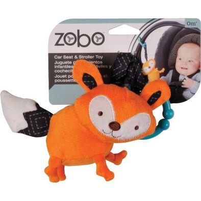 Zobo 狐狸吊件玩具