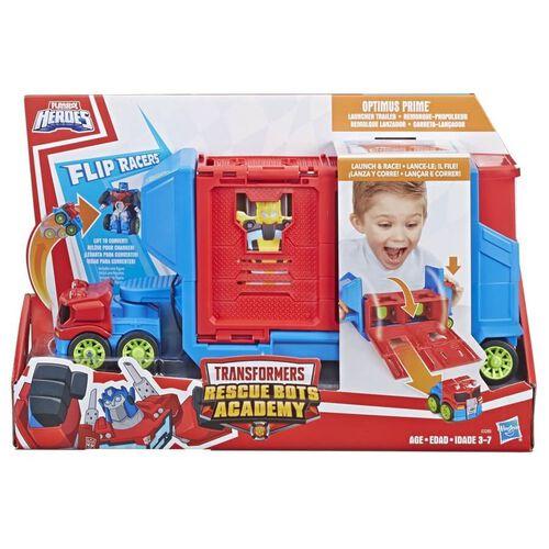 兒樂寶英雄transformers變形金剛救援機器人學院翻轉賽車手