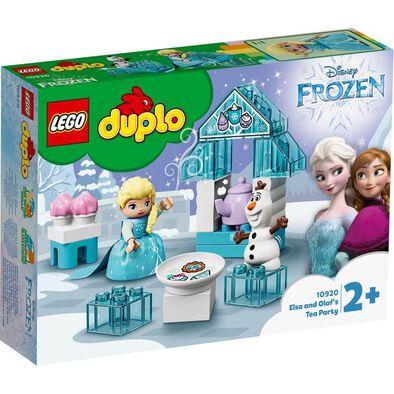 LEGO樂高得寶系列 LEGO Duplo Elsa And Olaf's Tea Party 10920