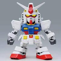 Bandai萬代 塑膠模型 Sd Gundam Ex-規格 Hello Kitty及rx-78-2高達合作系列