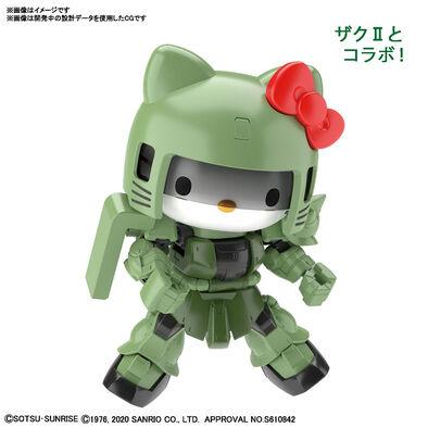 Bandai萬代 SDCS高達系列 HELLO KITTY/量產型渣古II