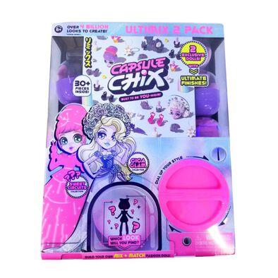 Capsule Chix奇幻風  粉色夢幻及流行搖滾造型限量版