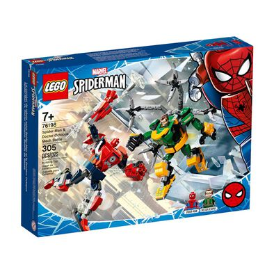 LEGO樂高 漫威超級英雄系列Spider-Man & Doctor Octopus Mech Battle 76198