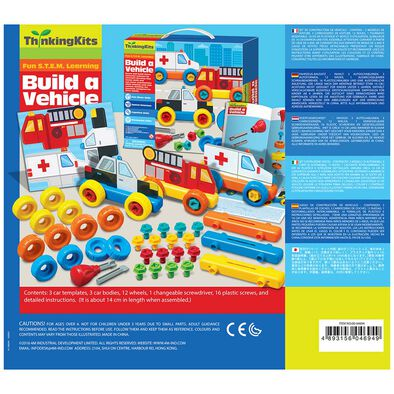 4M Thinking Kits Build A Vehicle