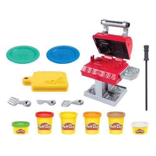 Play-Doh培樂多 小煮意系列 Bbq燒烤印章套裝