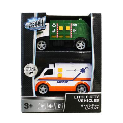 Speed City極速都市  迷你城市車輛