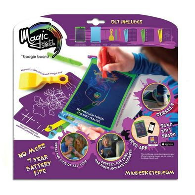 Boogie Board Magic Sketch 兒童神奇彩色透明液晶塗鴉板