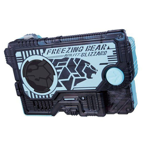 Kamen Rider 幪面超人Zero-One Dx 冰極巨熊變身匙卡