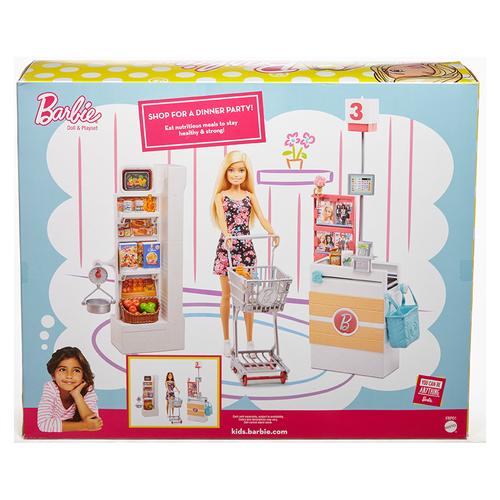 Barbie芭比超級市場組合連娃娃