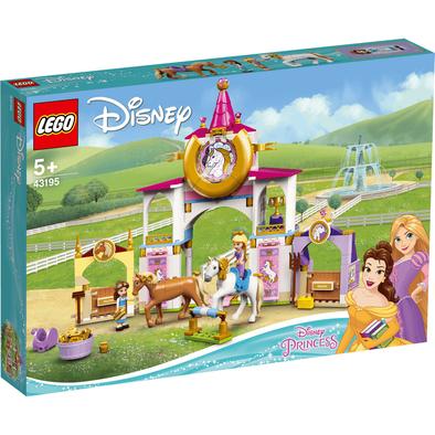 LEGO樂高 貝兒和長髮公主的皇家馬廄 43195