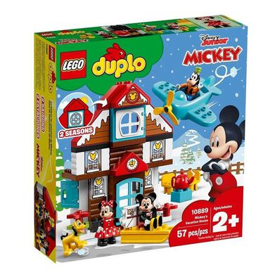 LEGO樂高得寶系列 LEGO Duplo Mickey's Vacation House 10889