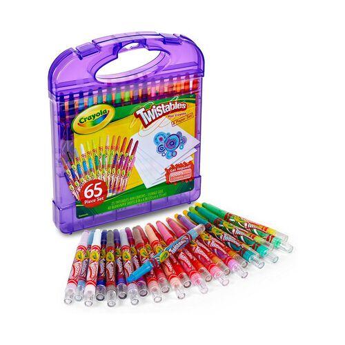 Crayola繪兒樂迷你可轉動蠟筆及畫紙套裝
