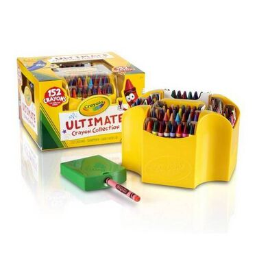 Crayola 152Ct Ultimate Crayon Case
