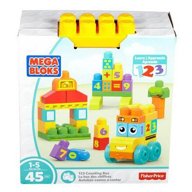 Mega Bloks美高積木 123積木巴士