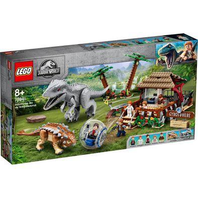 LEGO Indominus Rex Vs. Ankylosaurus 75941