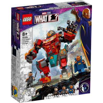 LEGO樂高 Tony Stark 的 Sakaarian 鋼鐵俠 76194
