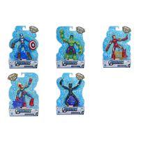 Marvel Avengers漫威復仇者聯盟 超可動系列英雄人物組 - 隨機發貨