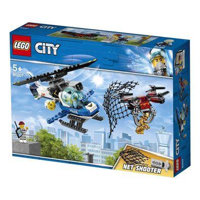 LEGO樂高城市系列空中警察無人機追逐 60207