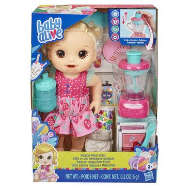 Baby Alive Bb小麗系列魔法攪拌器小寶貝