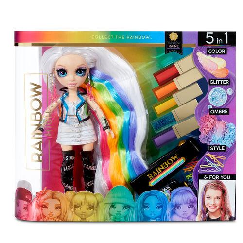 Rainbow High 七彩時尚少女染髮套裝