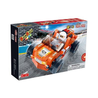 Banbao邦寶 橙色賽車