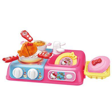 Hello Kitty吉蒂貓 廚房系列 溫馨桌上廚房