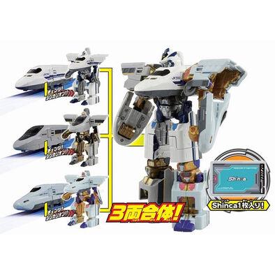Plarail-Shinkalion 新幹線戰士dxs10三重合體