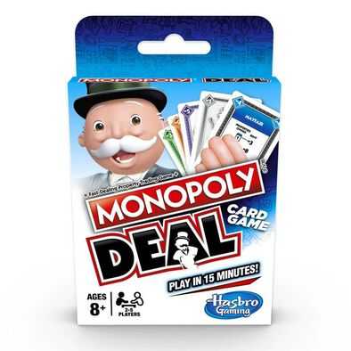 Monopoly大富翁紙牌交易遊戲